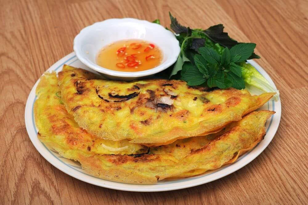 Vietnamese Food Recipe - The Banh xeo
