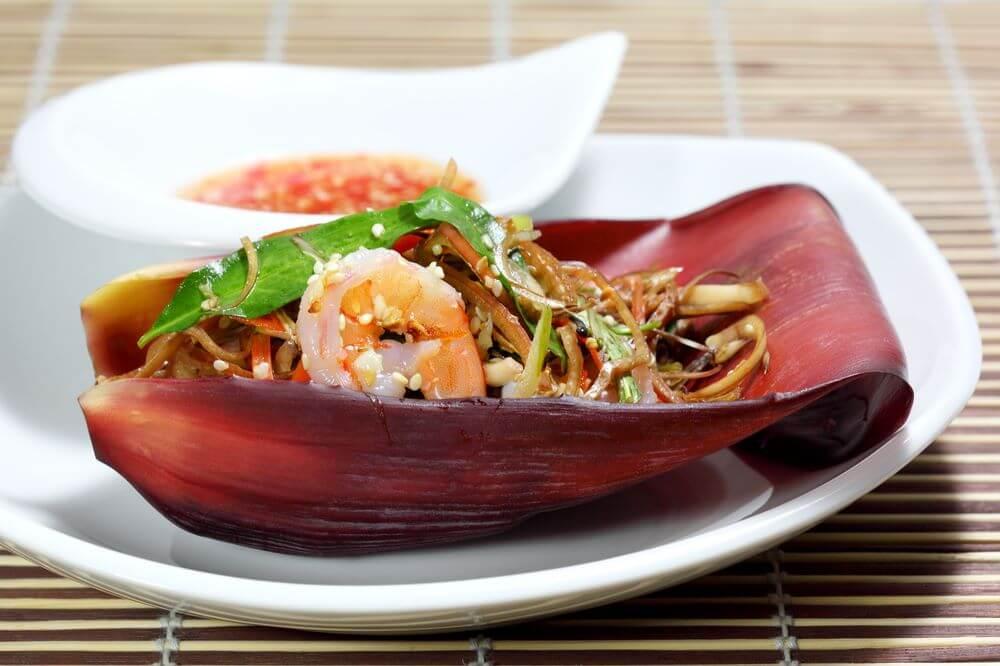 Vietnamese Food Recipe- The Nom Hoa Chuoi